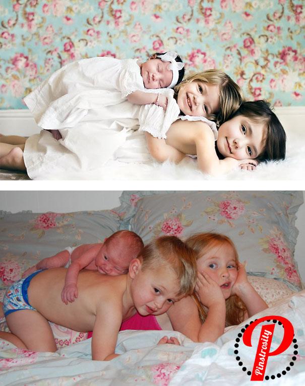 cute baby photos vs reality (7)