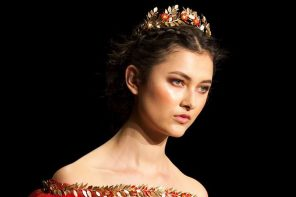 You've Got To See This Red Wedding Dress That Stole The Show At NZFW