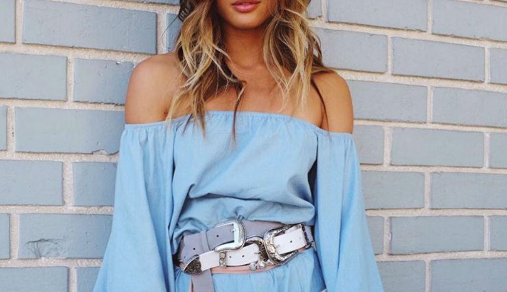 blue-off-the-shoulder-dress-rocky-barnes-m2woman