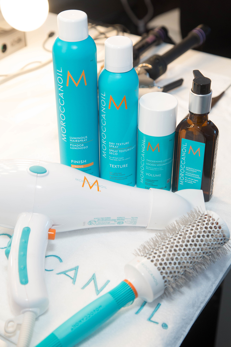 Hair by Moroccanoil Global Ambassador Kevin Hughes / Photography Jason Carter Rinaldi for Moroccanoil