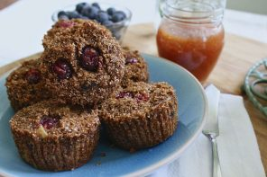 Recipe: Flourless Almond Butter and Oat Protein Muffins