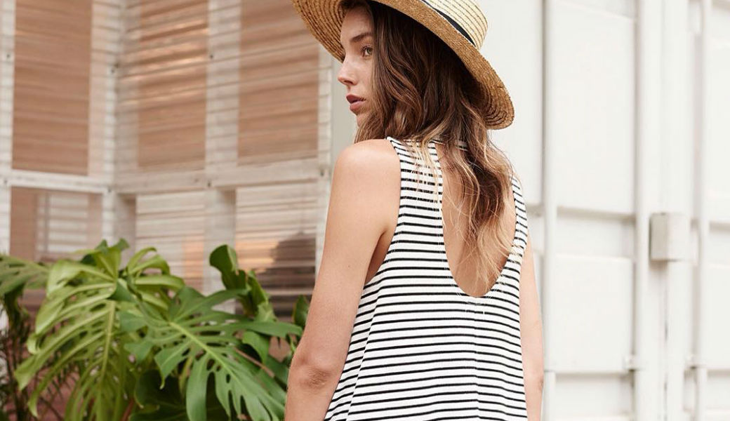 striped-dress-straw-hat-m2woman