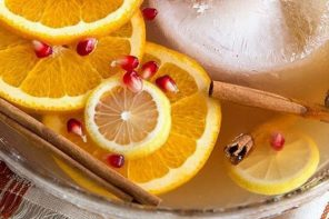 Recipe: White Christmas Sangria To Get You Through The Silly Season