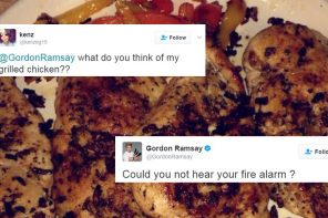 Gordon Ramsay Is Judging Everyone's Home Cooked Meals on Twitter in His Typical Savage Fashion