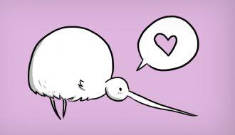 kiwi-in-love