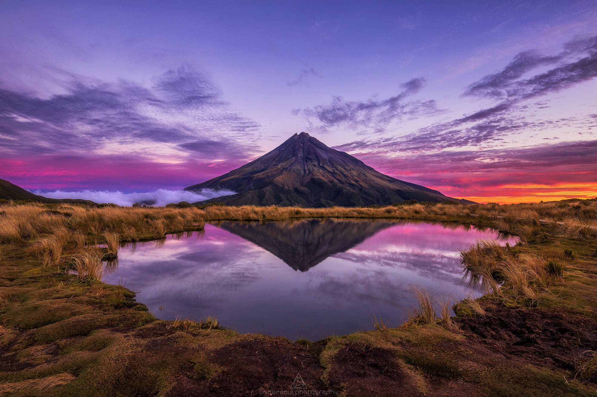 Choice Hotels TravelGrammer - Sunset Shot of Mt Taranaki by Jordan McInally