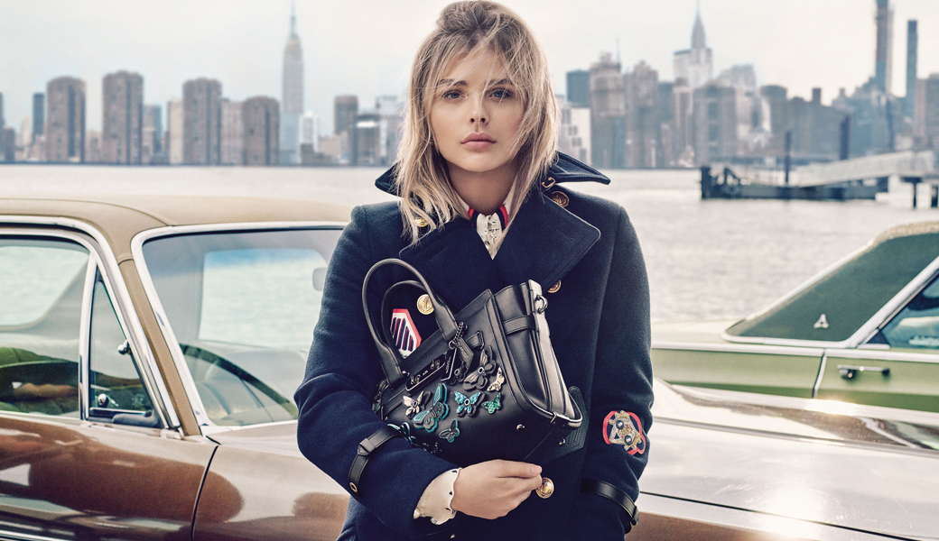 The Ease and Effortlessness Style of Chloë Grace Moretz & Coach