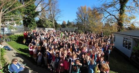 Nelson Central School group shot