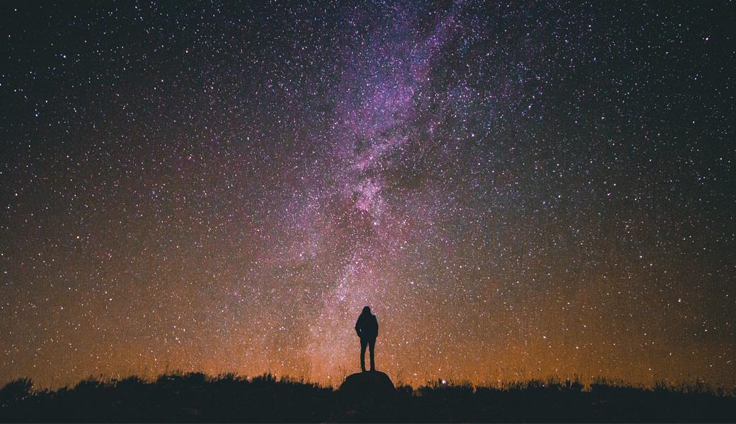 Woman-starlight
