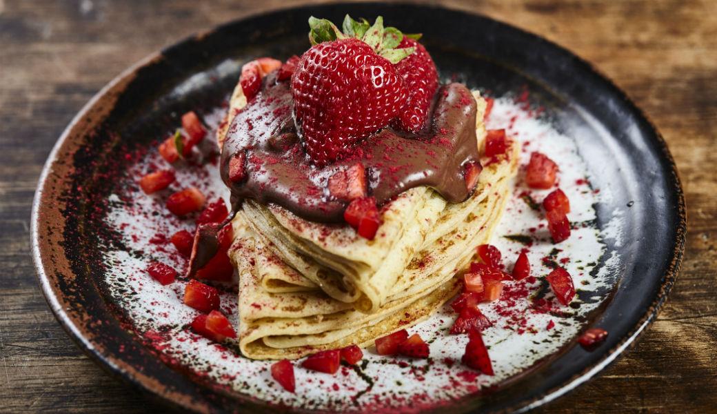 Strawberry Chocolate crepe M2Woman