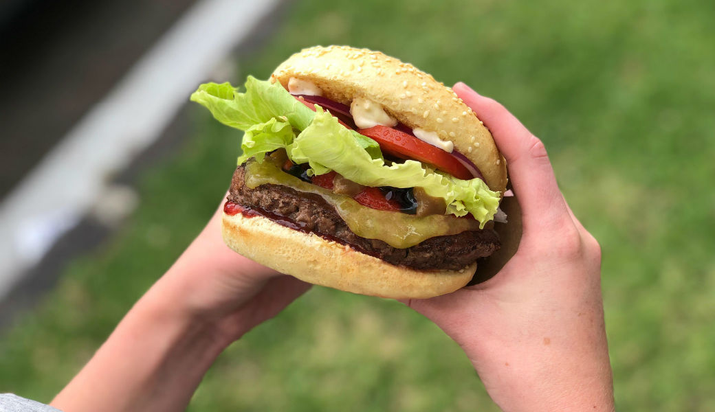 BurgerFuel PBJ Burger